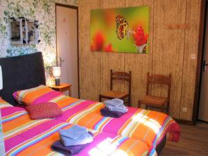 La Chêneraie chambre Jardin des papillons